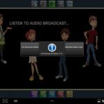 Transferts de fichiers audio de la tablette prof vers les tablettes élèves
