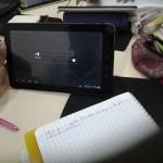L'élève accède au fichier audio pour un travail autonome.